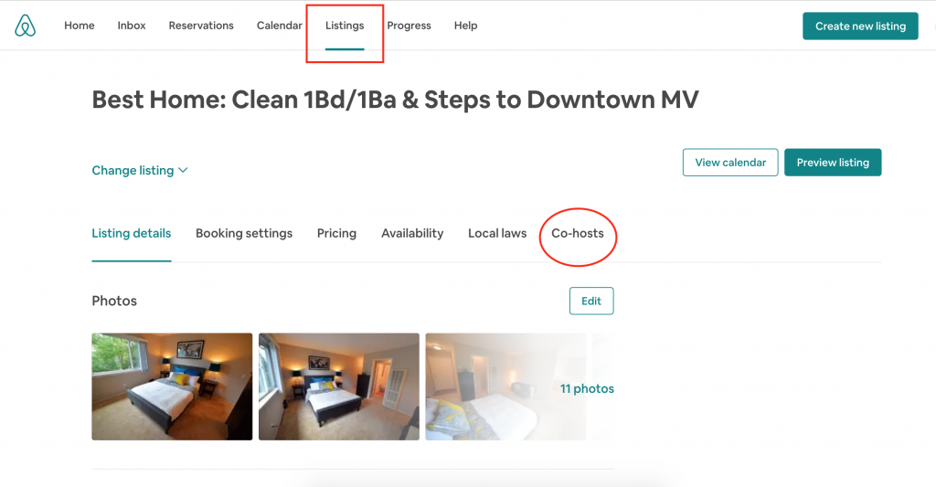 airbnb co-host training