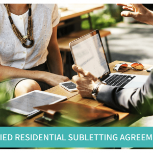 Simplified Residential Subletting Agreement