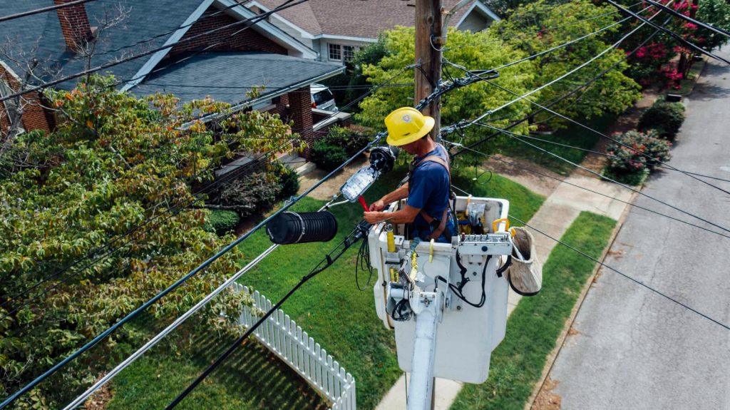 Power Outages repair work
