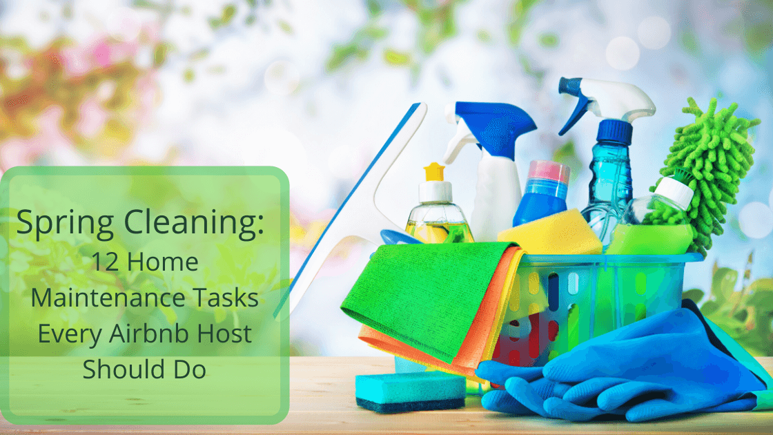 Spring Cleaning - 12 home maintenance tasks