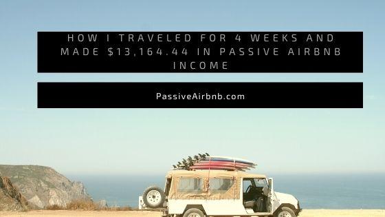 passive airbnb income